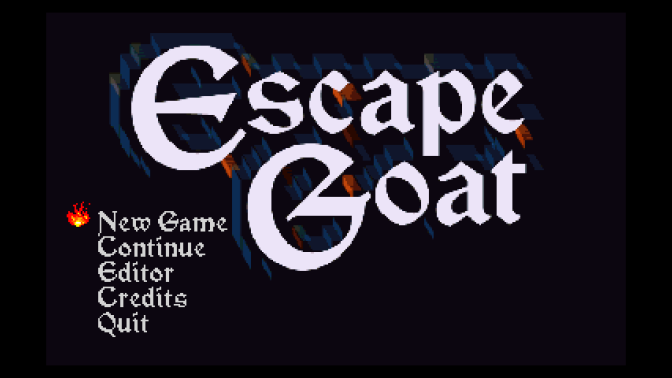 Escape Goat Review