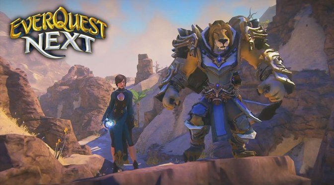 Everquest Next Coming to PS4, PlanetSide 2 Update