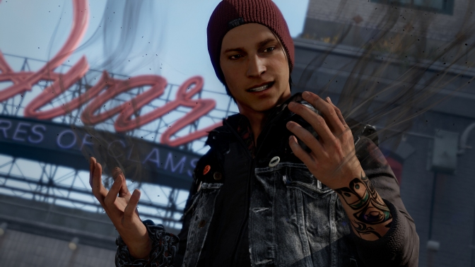 PS4 Game Spotlight: inFAMOUS Second Son