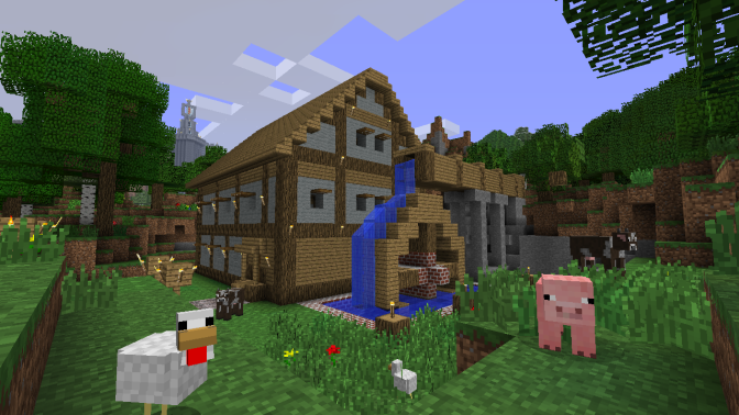 Minecraft Release Date for PS3