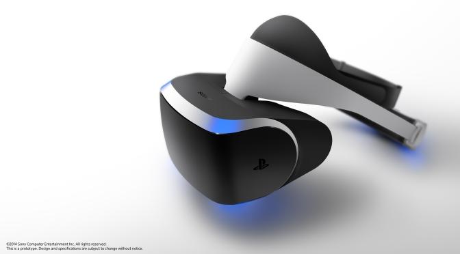 Sony announces VR headset, Project Morpheus.