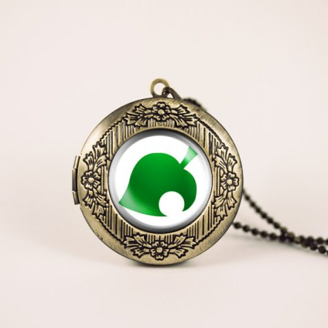 Animal Crossing New Leaf Locket