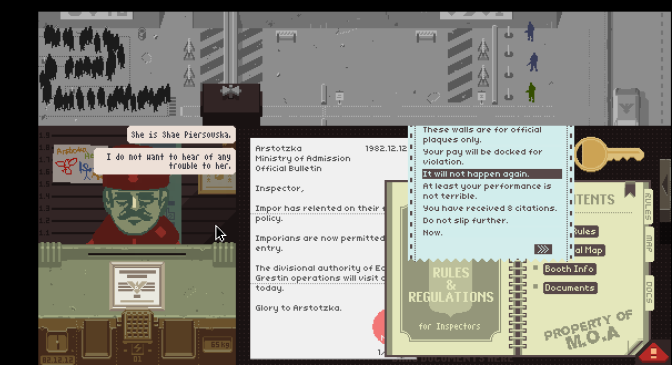 Papers, Please | Review