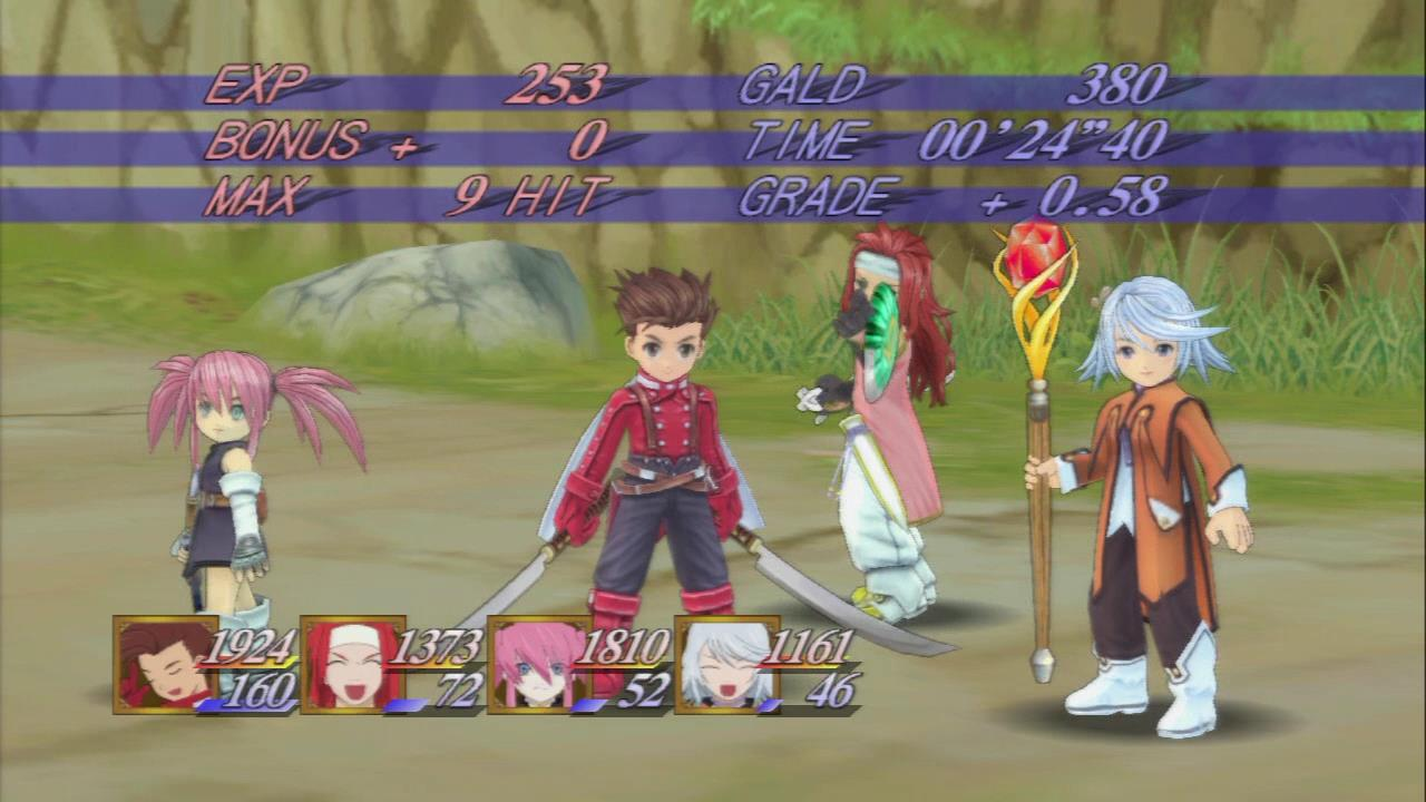 Tales Of Symphonia Hd Review Middle Of Nowhere Gaming