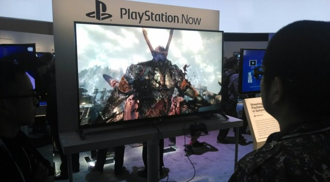 Sony Unveils Bravia TVs with PlayStation Now