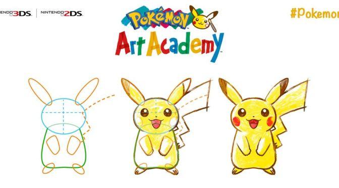Pokémon Art Academy Will Teach You How to Draw Pokémon!