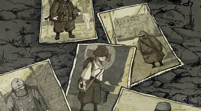 Valiant Hearts: The Great War Release Date Announced