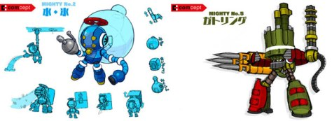 mighty no 9 bosses