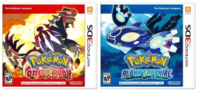Pokémon Omega Ruby and Alpha Sapphire coming in November