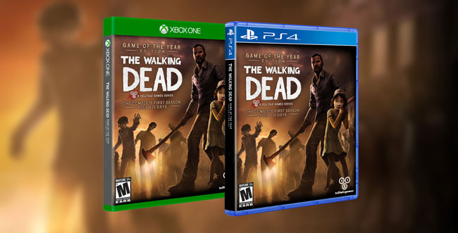 The Walking Dead and Wolf Among Us Next Gen Release Date Announced!