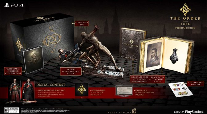 The Order: 1886 Release Date/Collector's Editions Revealed