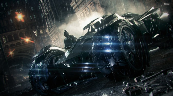 The Batmobile Takes Charge in New Arkham Knight Trailer
