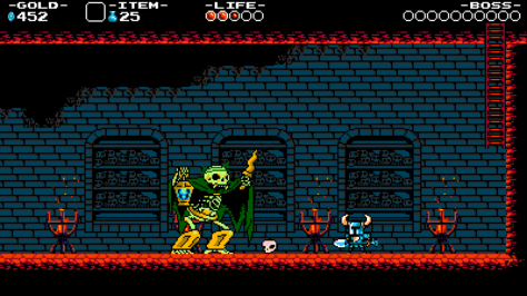 Shovel Knight Skelly