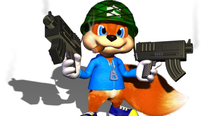 Conker is Back!…Sort of