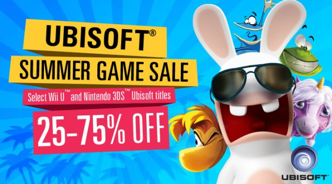 75% Off Select Ubisoft Games on Nintendo eShop