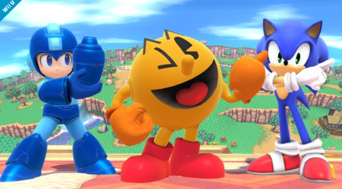 Pac-Man Joins the Fray in Super Smash Bros.