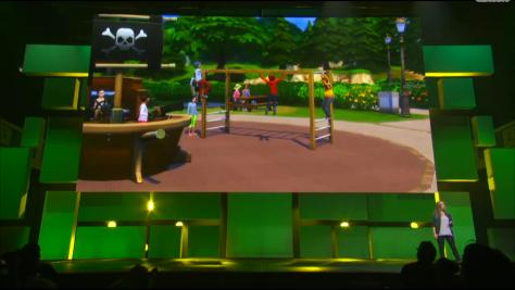Sims 4 E3 EA