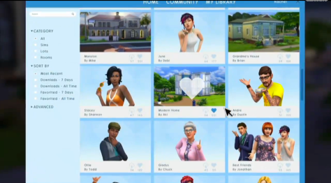 The Sims 4 Gallery