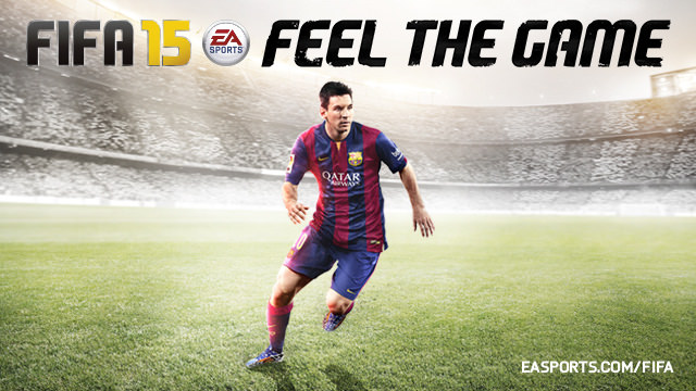 FIFA 15 Global Cover Revealed