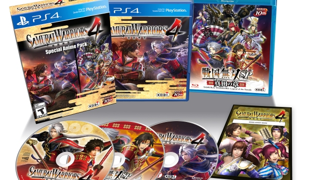 Samurai Warriors 4 Collector's Edition Revealed