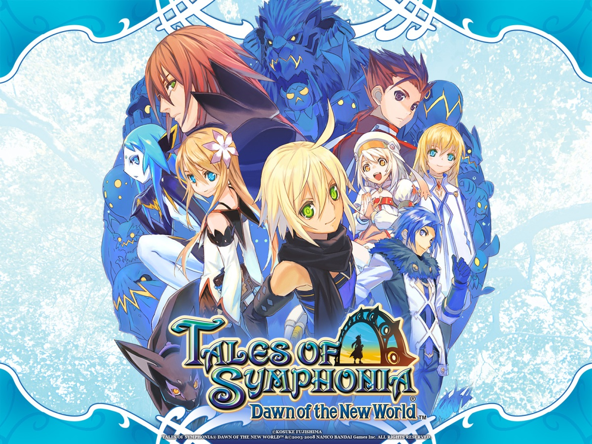 Tales Of Symphonia Dawn Of The New World Hd Review Middle Of
