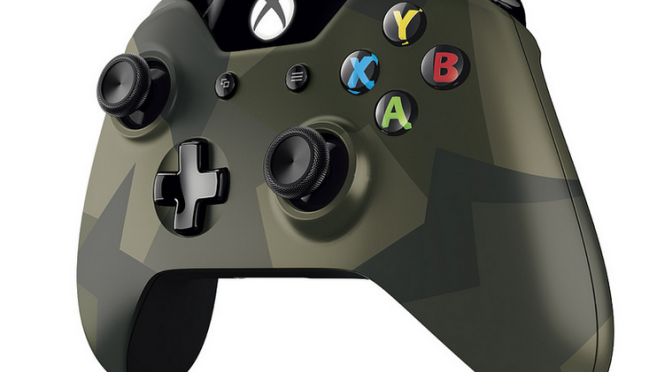 Microsoft Reveals New Armed Forces Edition Controller and Headset