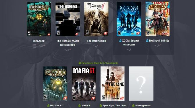 2K Humble Bundle released