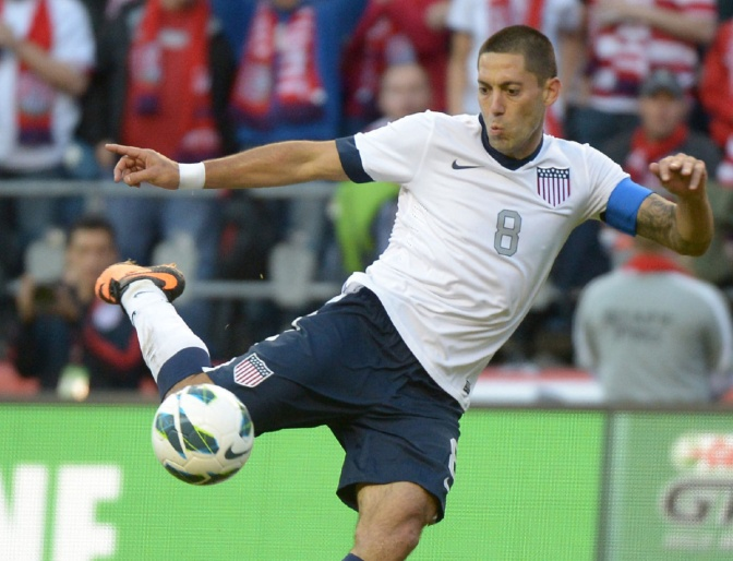 Clint Dempsey Will be on the Cover of FIFA 15