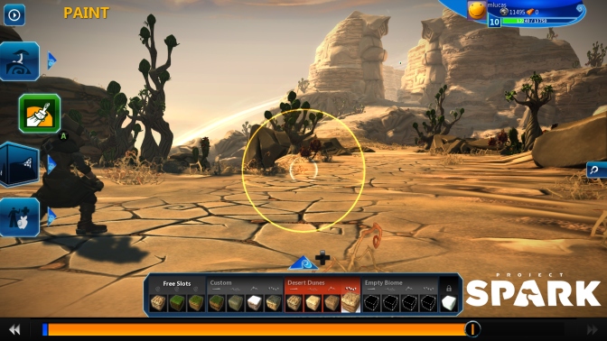 Final Version of Project Spark Coming in October