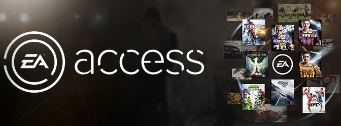 EA Announce EA Access Exclusively For Xbox One