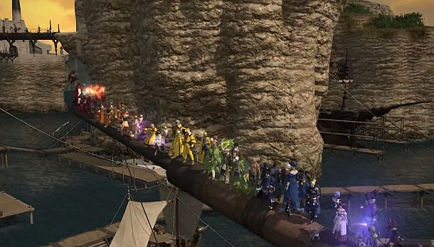 FFXIV's Same-Sex Marriage Decision Sparks Gay Pride Parade