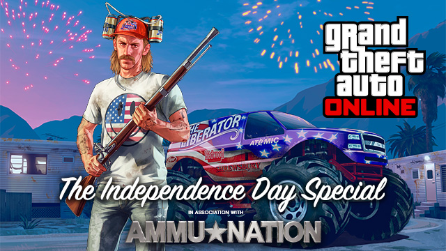 GTA: Online 4th of July Update