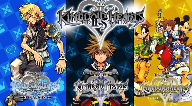 Kingdom Hearts HD Remix Compilation Coming to Japan