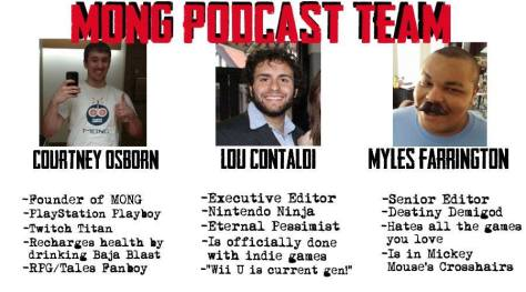 MONG Podcast Team