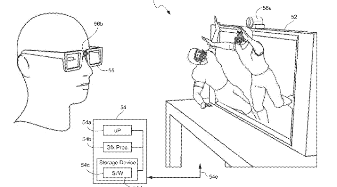 Nintendo Files Patent for Eye-Tracking Device For 3D Viewing on Any Display