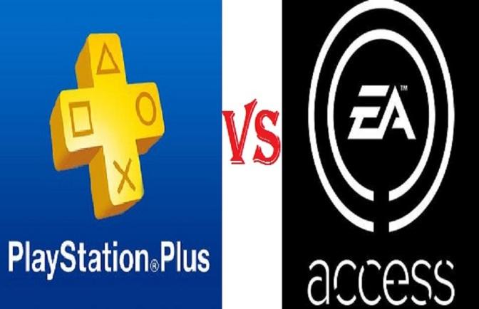 PlayStation-Plus vs ea access