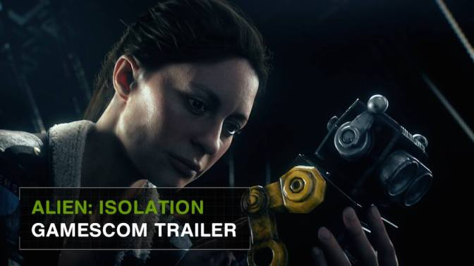 "New Alien: Isolation CGI Trailer – ""Improvise"""
