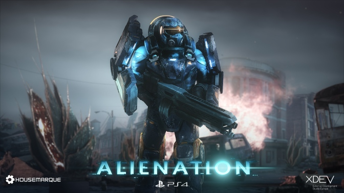 Alienation Announced for PlayStation 4