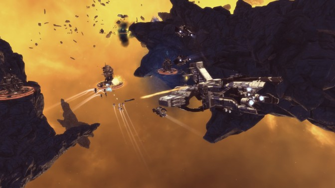 Paradox Reveals their Single Player RTS, Ancient Space