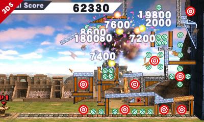 Target Mode Smash Bros. 3DS