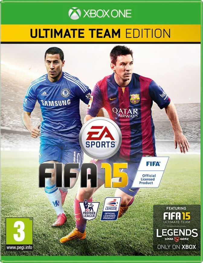 FIFA 15 UK cover
