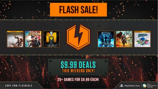 Flash Sale For PlayStation Network Starts Today