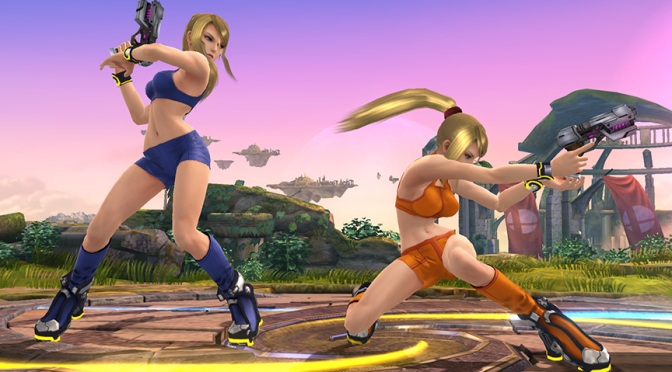 Zero Suit Samus Gets New Outfit in Super Smash Bros