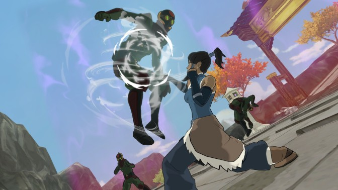 Pro-Bending Mode Revealed for The Legend of Korra Game