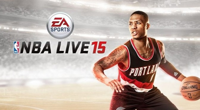 Damian Lillard Blazes Trail For Portland As NBA Live Cover Athlete