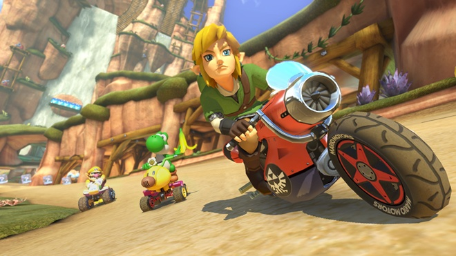 Mario Kart 8 DLC Features F-Zero, Animal Crossing, and Zelda Themes
