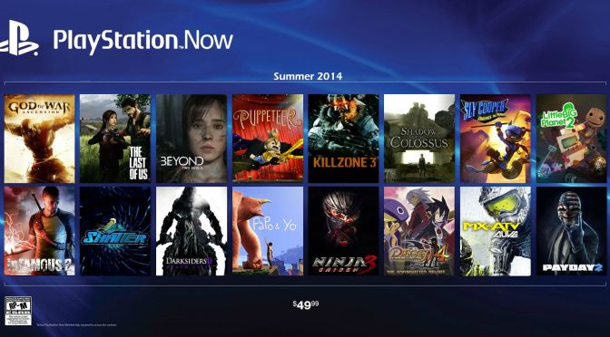 PlayStation Now coming to Europe in 2015