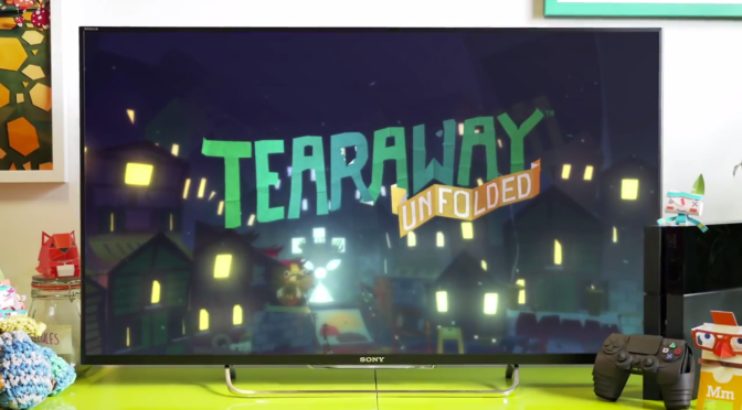 Tearaway Unfolded Announced for PlayStation 4