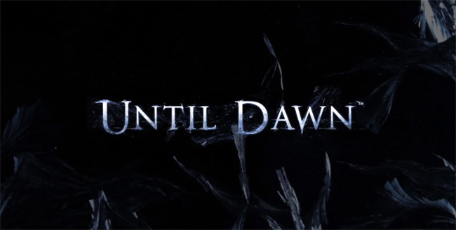 Sony Finally Shows Off Until Dawn on PS4