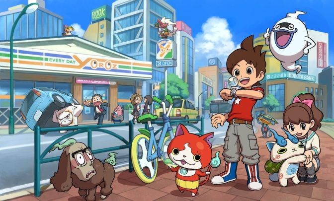 Youkai Watch Coming West in 2015